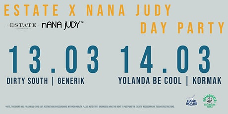 ESTATE  x NANA  JUDY DAY FESTIVAL tickets