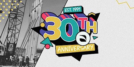 IHC's 30th Anniversary tickets