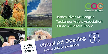 March 2021 Virtual Art Opening Tickets