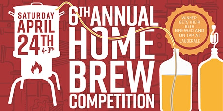 6th Annual Home Brew Competition & Beer Festival tickets