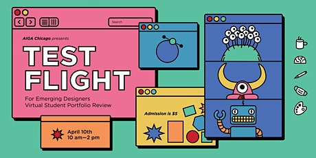 AIGA Chicago presents Virtual Test Flight: Portfolio Review for Designers tickets