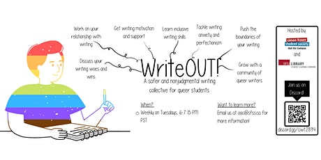 WriteOUT!: SFU's Queer Writing Collective tickets