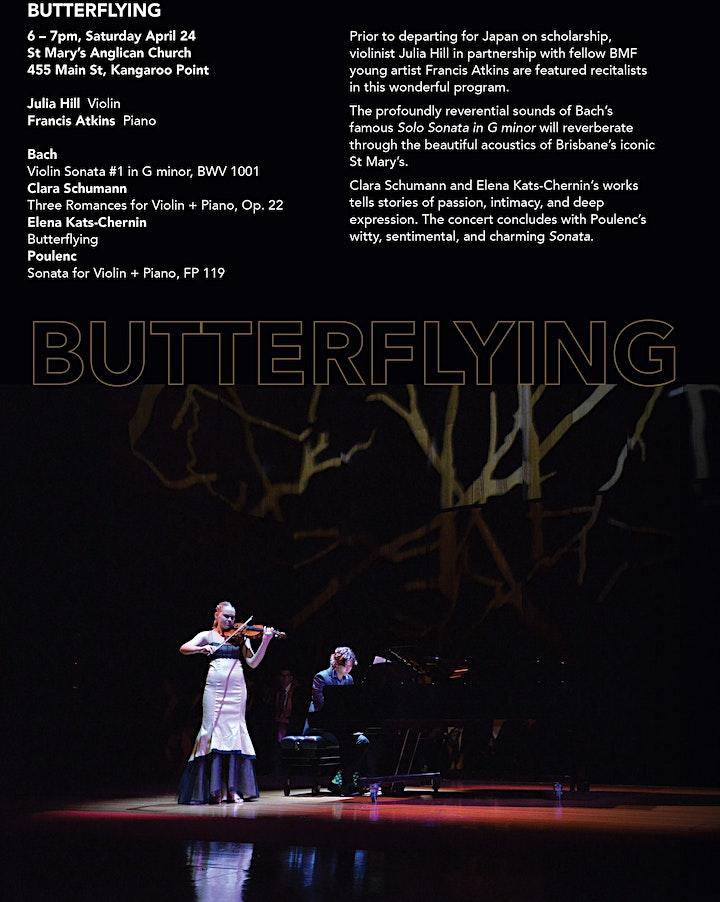 Butterflying / Brisbane Music Festival 2021 image