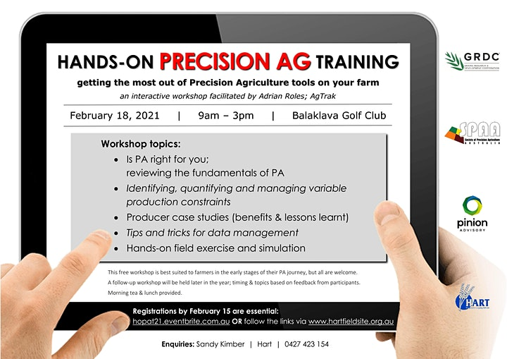 Hands-on PRECISION AG Training image