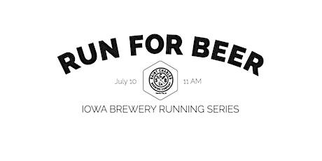Beer Run - Saint Charles Brewing  | 2021 Iowa Brewery Running Series tickets