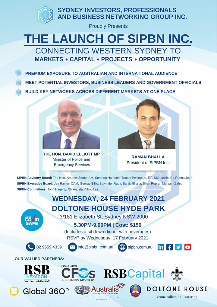 Connecting Western Sydney to Markets, Capital, Projects and Opportunity image