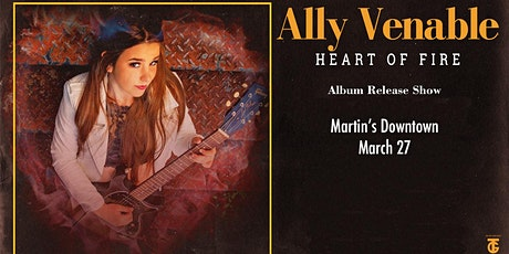 Ally Venable Album Release Show at Martin's Downtown tickets