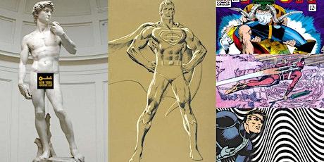 'The Art of Comic Books: Fine Art at Our Fingertips' Webinar tickets