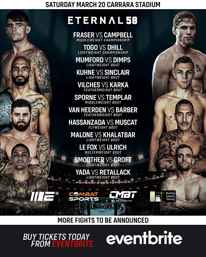ETERNAL MMA 58 image