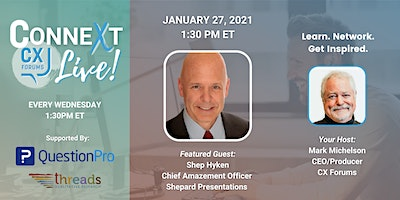 2021 Customer Service and Experience Predictions with Shep Hyken (Replay)