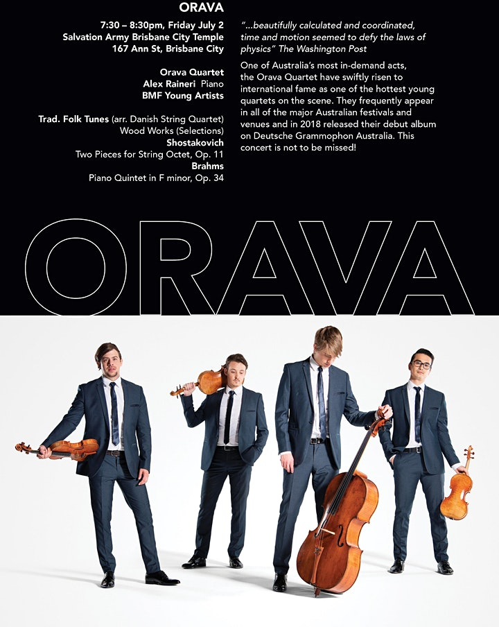Orava / Brisbane Music Festival 2021 image