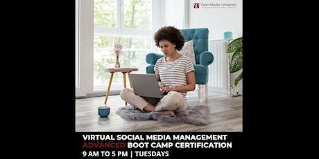 Social Media Marketing Advanced Boot Camp Certification tickets