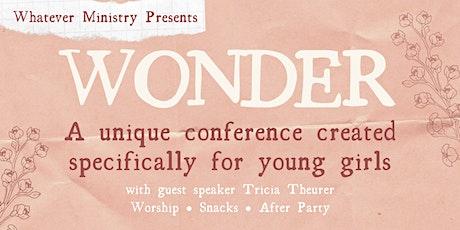 Wonder 2021 tickets