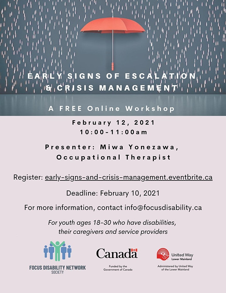 Mental Health: Early Signs of Escalation and Crisis Management image