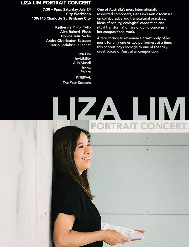 Liza Lim Portrait Concert / Brisbane Music Festival 2021 image