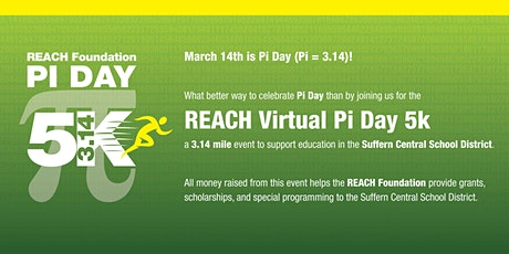 REACH Virtual Pi Day 5k tickets
