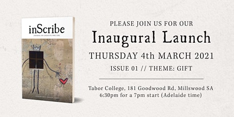 inScribe Journal Inaugural Launch tickets