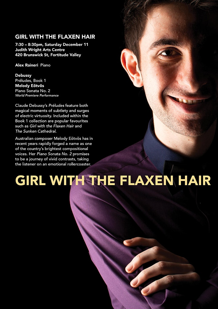 Girl with the Flaxen Hair / Brisbane Music Festival 2021 image