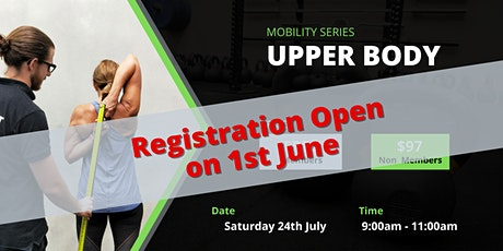 Upper Body Mobility Workshop tickets