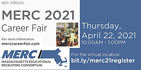 MERC 2021 Education Career Fair tickets