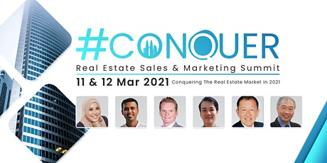 #CONQUER: Real Estate Sales & Marketing Summit  2021 tickets