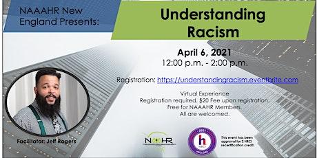 Understanding Racism tickets