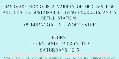 Handmade Market at Burncoat Center for Arts and Wellness tickets