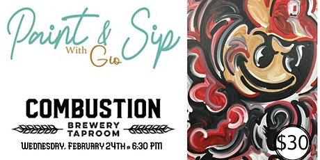 Paint & Sip With GIO - Combustion tickets