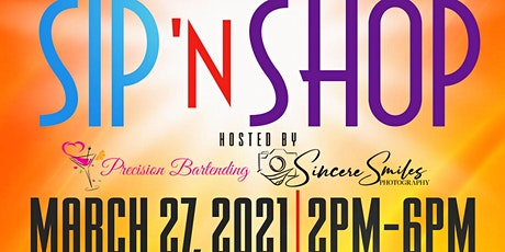 Sip & Shop Networking Event tickets