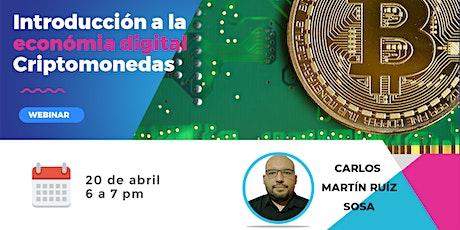 Introducción a la Economía digital: Criptomonedas entradas