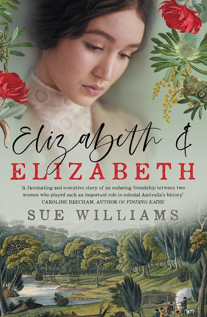 Speaker Series: Elizabeth and Elizabeth with Sue Williams image