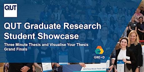 QUT Graduate Research Student Showcase 2021  (3MT® & VYT Grand Finals) tickets