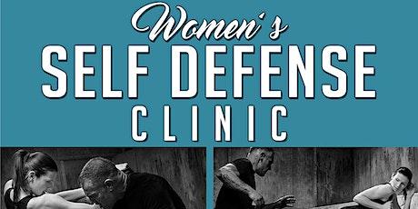 Women's Self Defense Clinic tickets