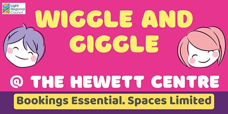 Wiggle and Giggle @ The Hewett Centre tickets