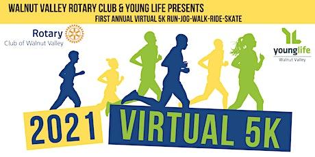 Walnut Valley Rotary & Young Life Virtual 5K Run tickets