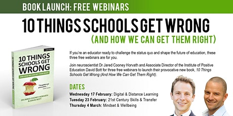 10 Things Schools Get Wrong - Book Launch (Part 3) tickets