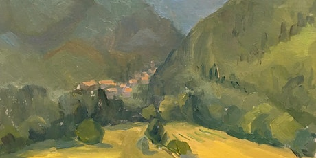view from Fivizzano: oils (or acrylics) with Vicki Norman tickets