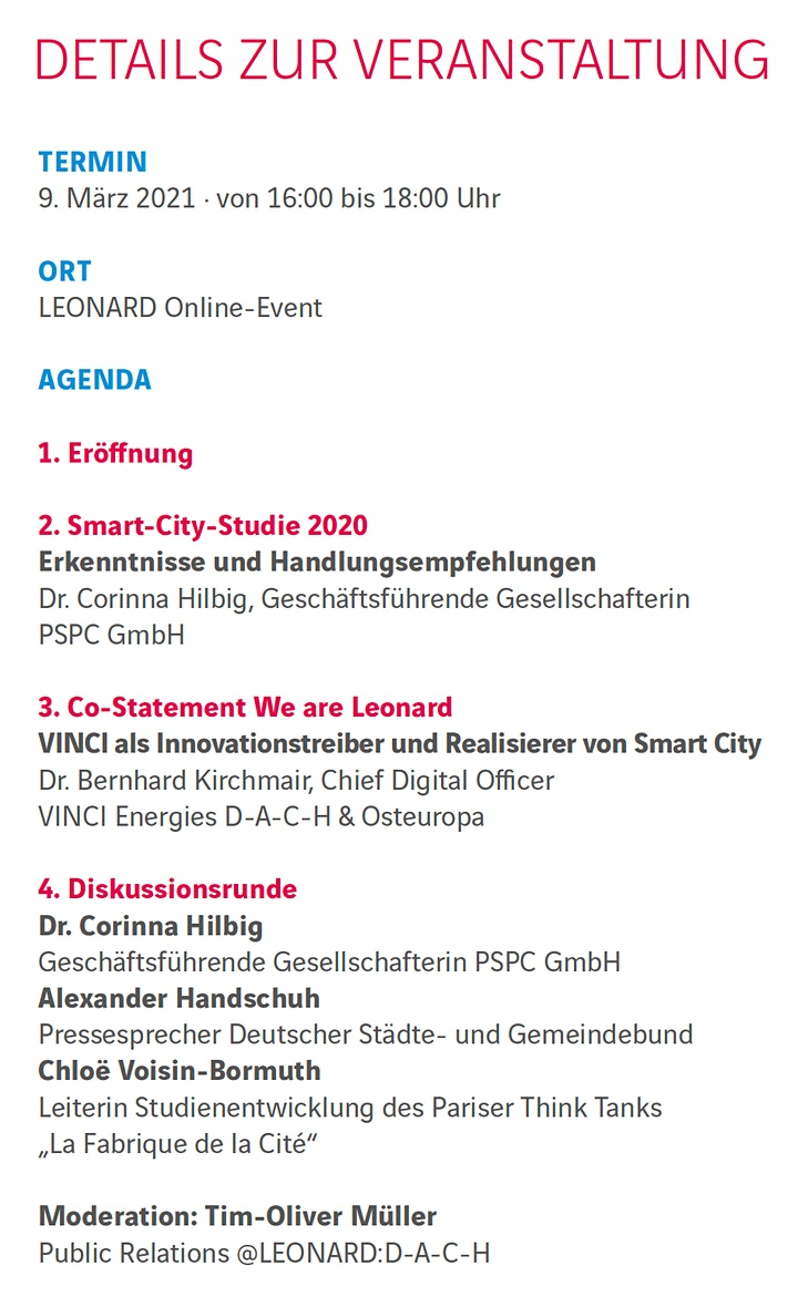 Smart und vernetzt - Der Weg zur intelligenten Stadt von morgen: Bild