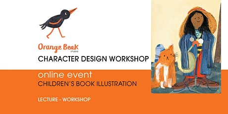 Orange Beak Picture Book Online Character Design Workshop tickets