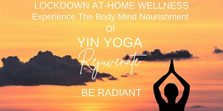 REJUVENATE:  Yin Yoga Class (Pay-What-You-Feel) tickets