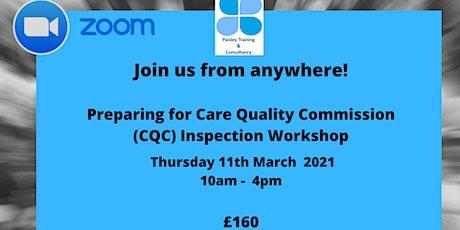 Preparing for CQC Inspections Workshop - Delivered Via Zoom tickets