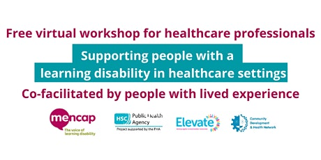 Learning Disability Awareness for healthcare professionals (NI) tickets