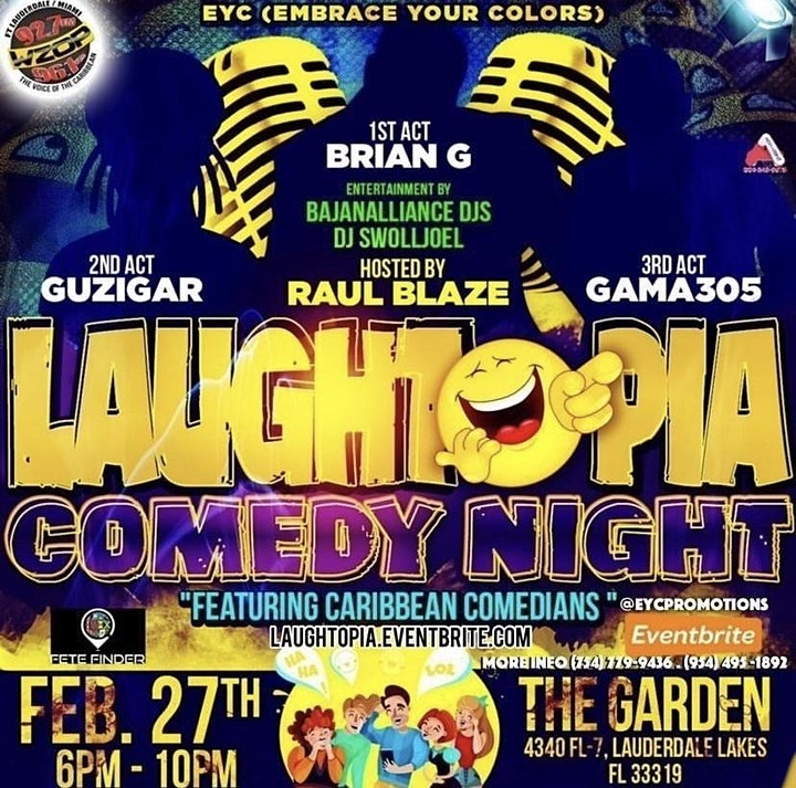 Laughtopia Comedy Night - Dj Cheem Live!!! image