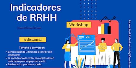 Workshop de Indicadores de RRHH a distancia tickets