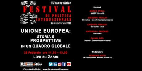 Unione Europea: storia e prospettive in un quadro globale biglietti