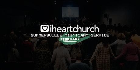 FEBRUARY: Summersville *11:15AM Service* tickets