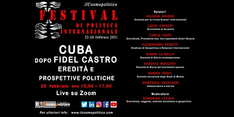 Cuba dopo Fidel Castro. Eredità e prospettive politiche biglietti