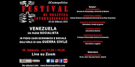 Venezuela: un Paese socialista sull'orlo di una guerra civile biglietti