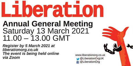 Liberation Annual General Meeting 2021 tickets