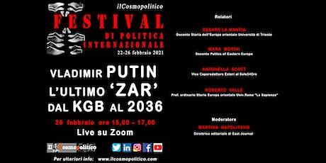 Vladimir Putin, l'ultimo 'zar': dal Kgb al 2036 biglietti